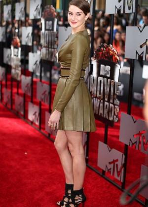 Shailene Woodley: 2014 MTV Movie Awards -01