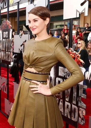 Shailene Woodley: 2014 MTV Movie Awards -02