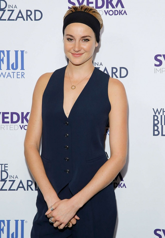 "Shailene Woodley - ""White Bird In A Blizzard"" Premiere in NYC"