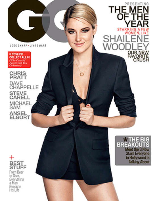 Shailene Woodley - GQ Magazine Cover (December2014)