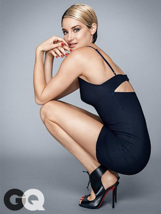Shailene Woodley - GQ Magazine (December 2014)