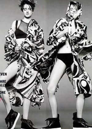 Shailene Woodley: Marie Claire Magazine -01