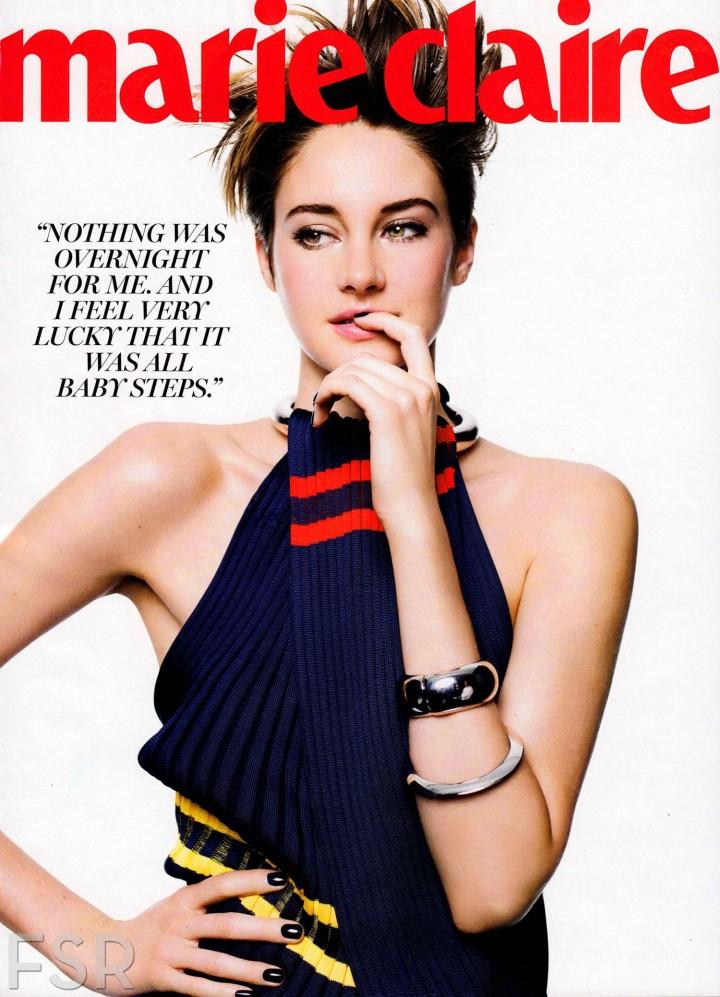 Shailene Woodley: Marie Claire Magazine -02