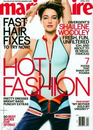 Shailene Woodley: Marie Claire Magazine -03