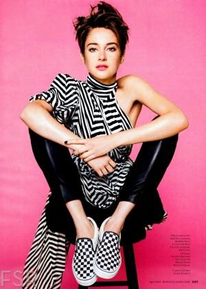 Shailene Woodley: Marie Claire Magazine -04