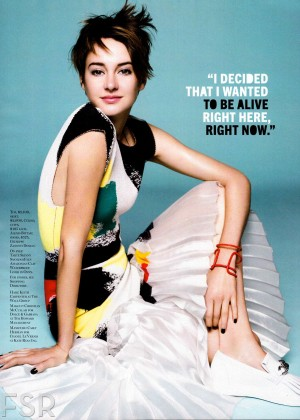 Shailene Woodley: Marie Claire Magazine -05