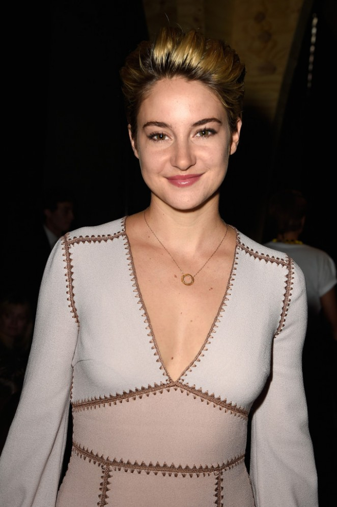 Shailene Woodley - Miu Miu Show Spring-Summer 2015 in Paris