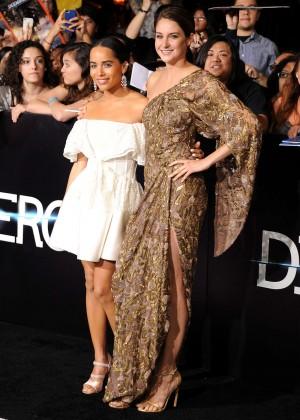 Shailene Woodley: Divergent Premiere -02