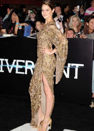 Shailene Woodley: Divergent Premiere -05