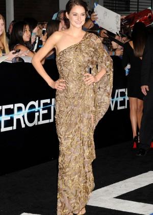 Shailene Woodley: Divergent Premiere -07