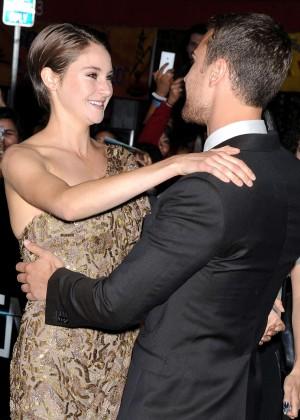 Shailene Woodley: Divergent Premiere -08