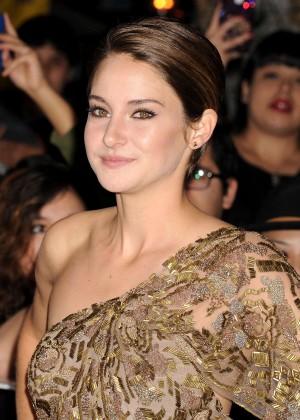 Shailene Woodley: Divergent Premiere -09