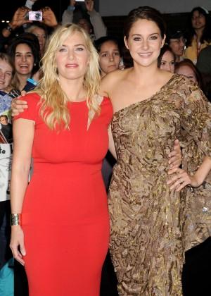Shailene Woodley: Divergent Premiere -10