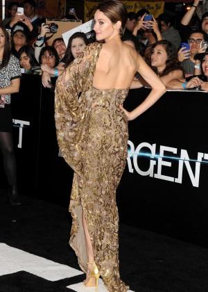 Shailene Woodley: Divergent Premiere -11