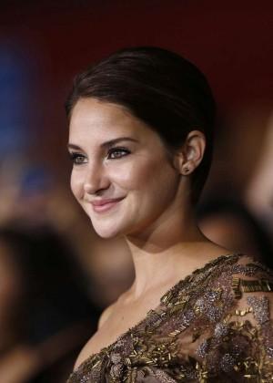 Shailene Woodley: Divergent Premiere -12