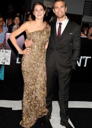 Shailene Woodley: Divergent Premiere -13