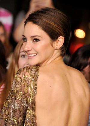 Shailene Woodley: Divergent Premiere -14