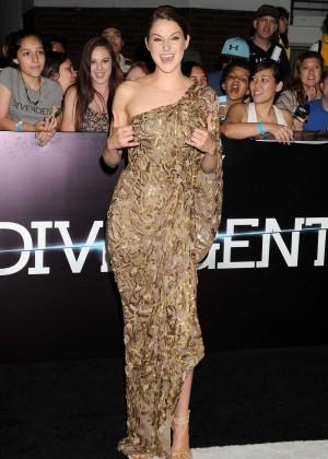 Shailene Woodley: Divergent Premiere -15