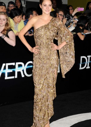 Shailene Woodley: Divergent Premiere -16