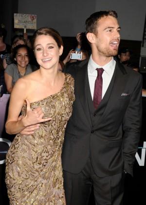 Shailene Woodley: Divergent Premiere -17