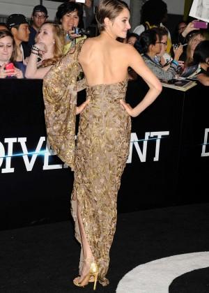 Shailene Woodley: Divergent Premiere -20