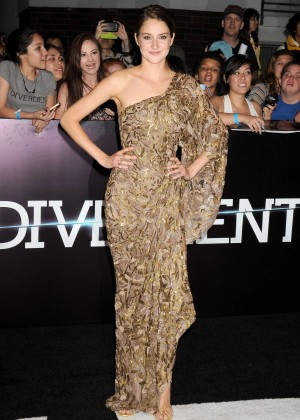 Shailene Woodley: Divergent Premiere -23
