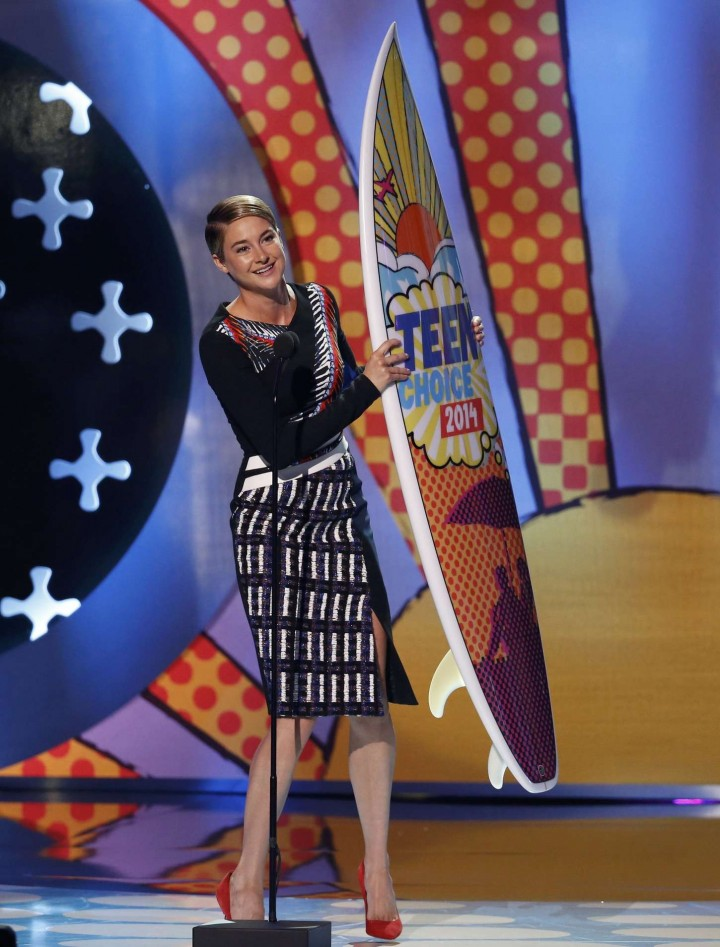 Shailene Woodley – Teen Choice Awards 2014 -06
