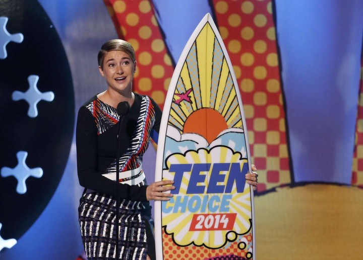 Shailene Woodley – Teen Choice Awards 2014 -07