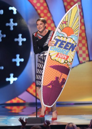 Shailene Woodley - Teen Choice Awards 2014