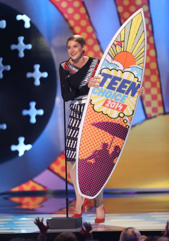 Shailene Woodley - Teen Choice Awards 2014
