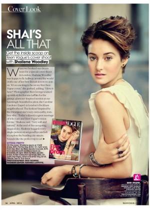 Shailene Woodley: Teen Vogue Magazine -05