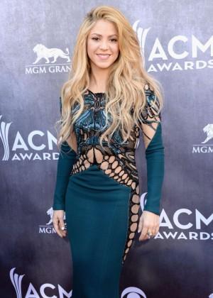 Shakira: 2014 Academy of Country Music Awards -21