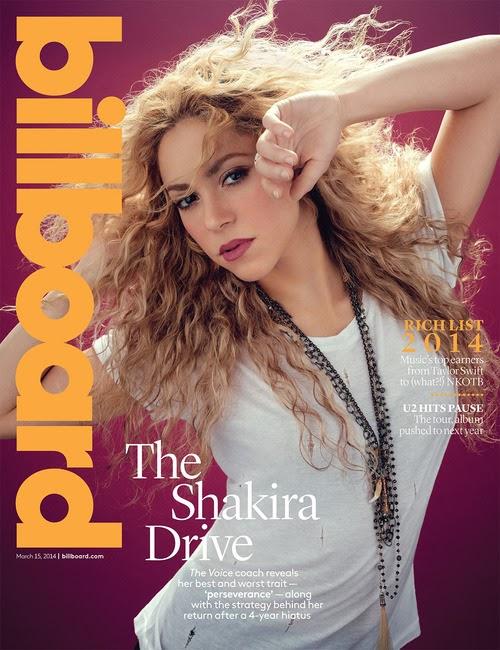 Shakira: Billboard Magazine -01