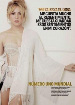 Shakira - Cosmopolitan Argentina Magazine (August 2014)