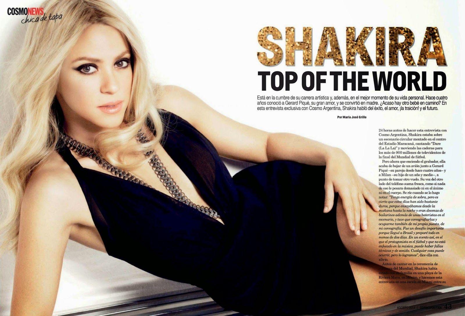 Shakira 2014 : Shakira – Cosmopolitan Magazine (Argentina August 2014) -03