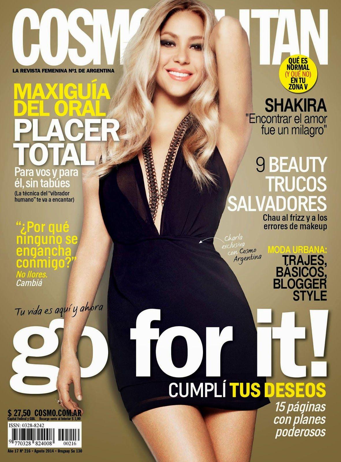 Shakira 2014 : Shakira – Cosmopolitan Magazine (Argentina August 2014) -06