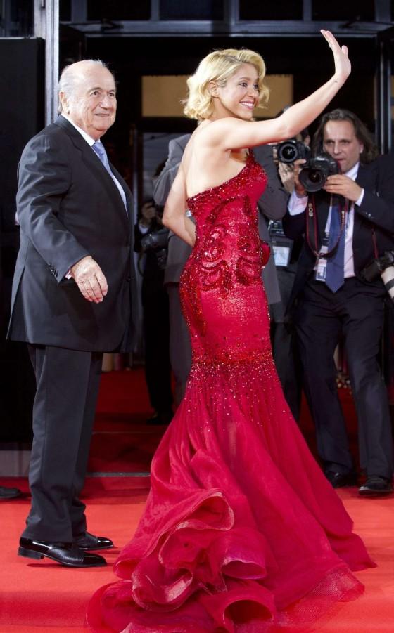 Shakira – FIFA Ballon d'Or Soccer Player of the Year 2011 Gala in Zurich
