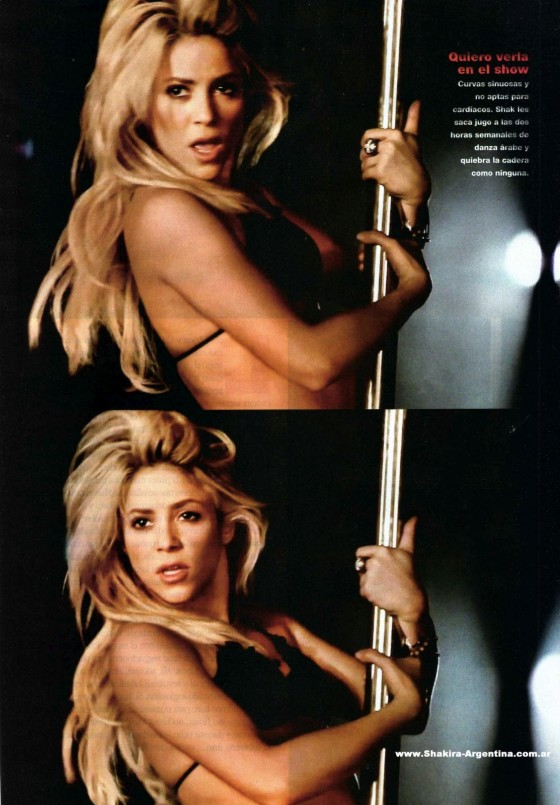 Shakira Very Sexy In Gente Magazine - Argentina June 2011 Issue-03