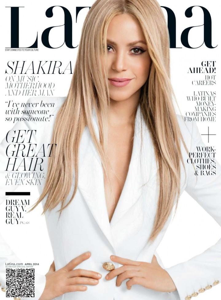 Shakira: Latina Magazine Cover -01