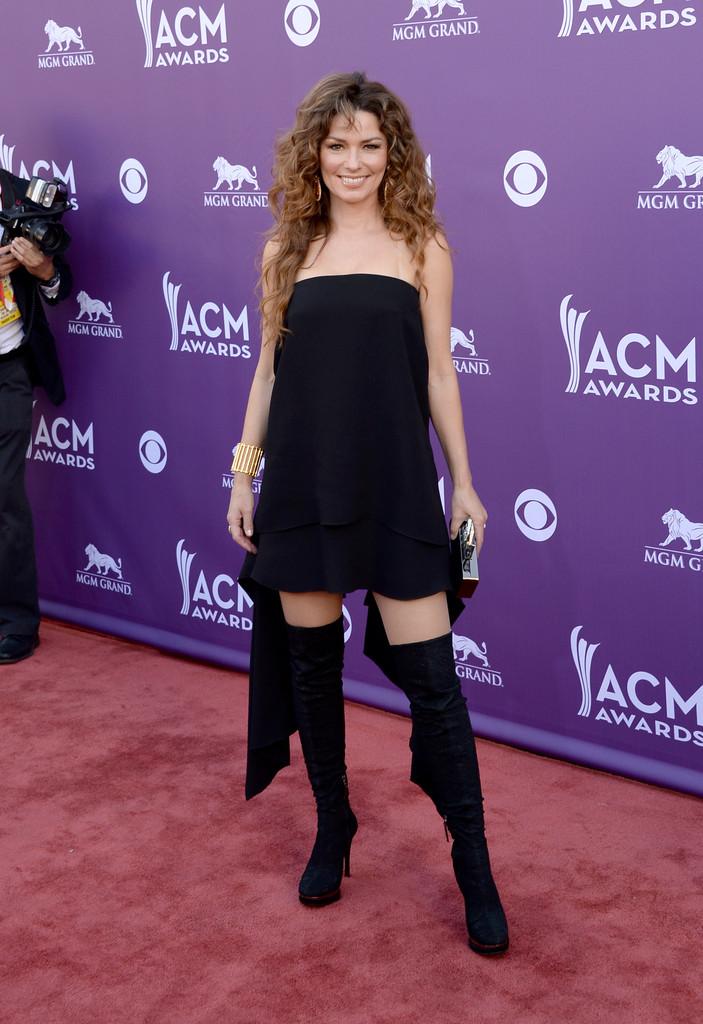 Shania Twain Academy Of Country Music Awards 2013 02