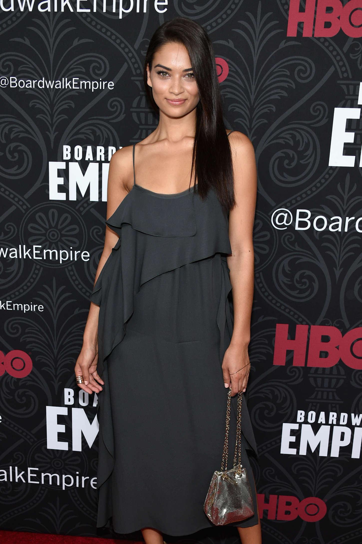 "Shanina Shaik - ""Boardwalk Empire"" Season 5 Premiere in NYC"