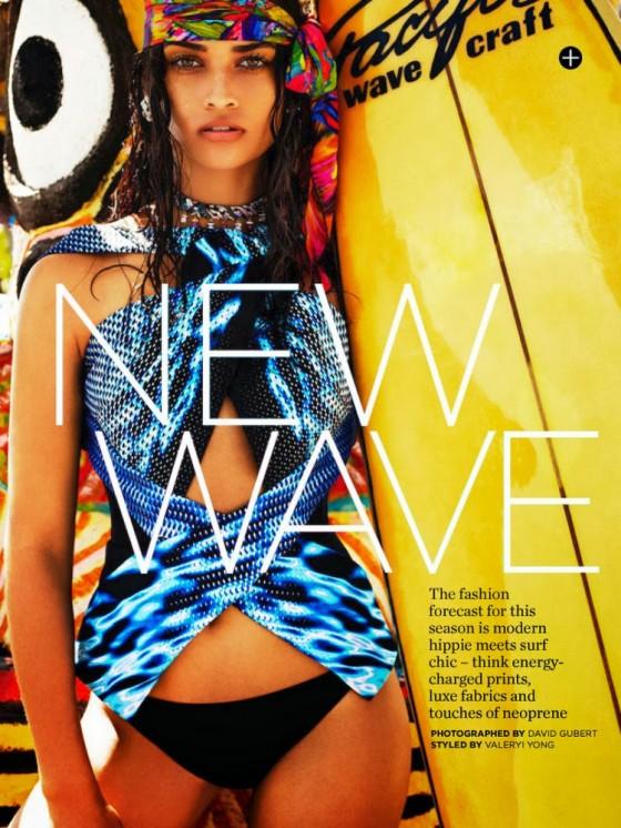 Shanina Shaik: Marie Claire Australia -02