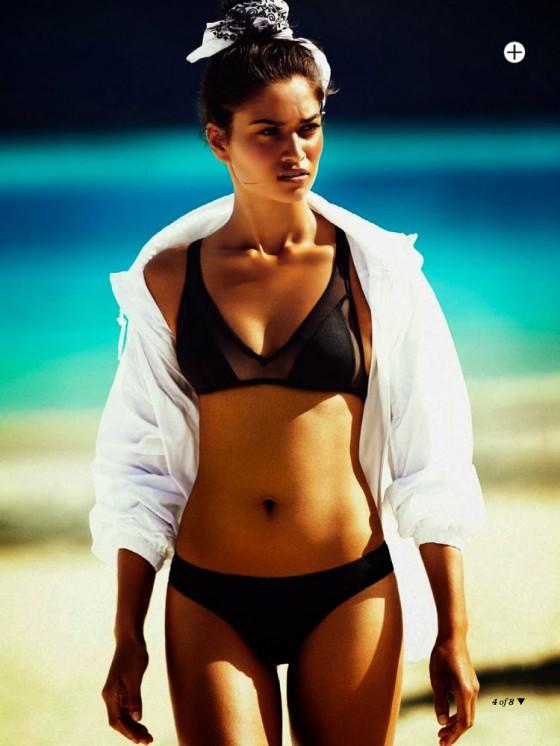 Shanina Shaik: Marie Claire Magazine -07