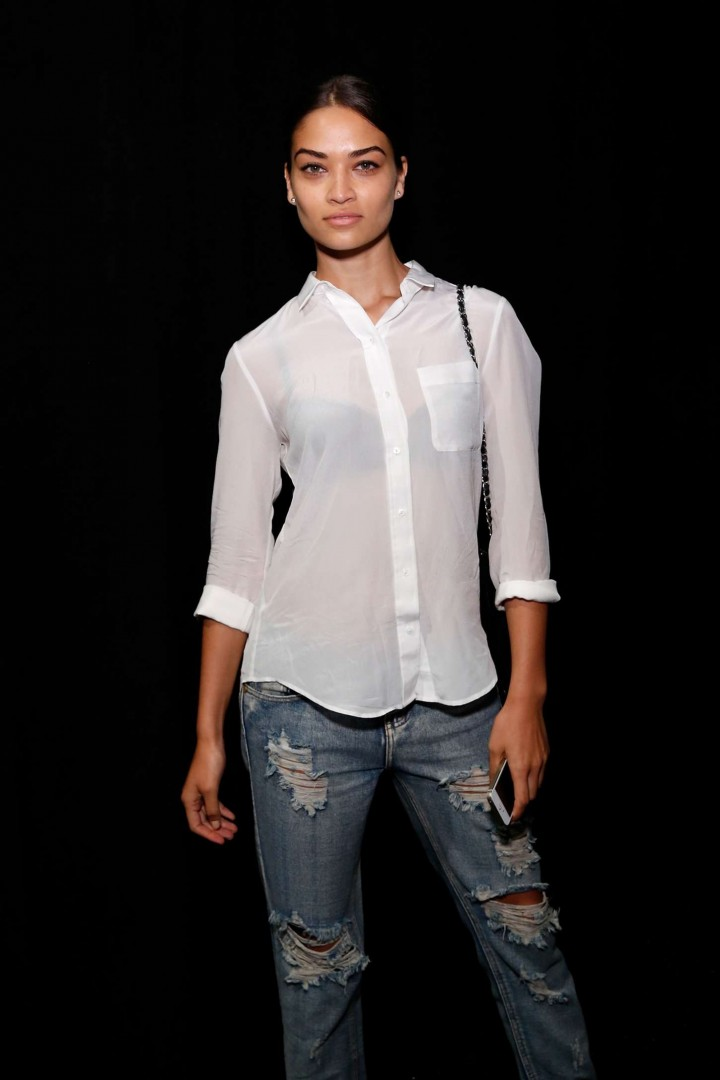 Shanina Shaik - Tome Fashion Show in NYC