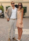 Sharni Vinson and Kellan Lutz  arrive at Milan Fashion Week-03