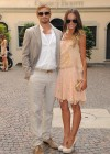 Sharni Vinson and Kellan Lutz Cesare Paciotti - Milan Fashion Week