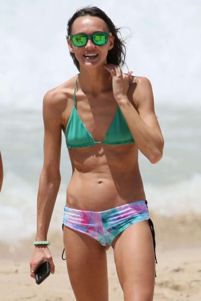 Sharni Vinson in a Bikini -31