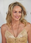 Sharon Stone in a dress at Glamorama
