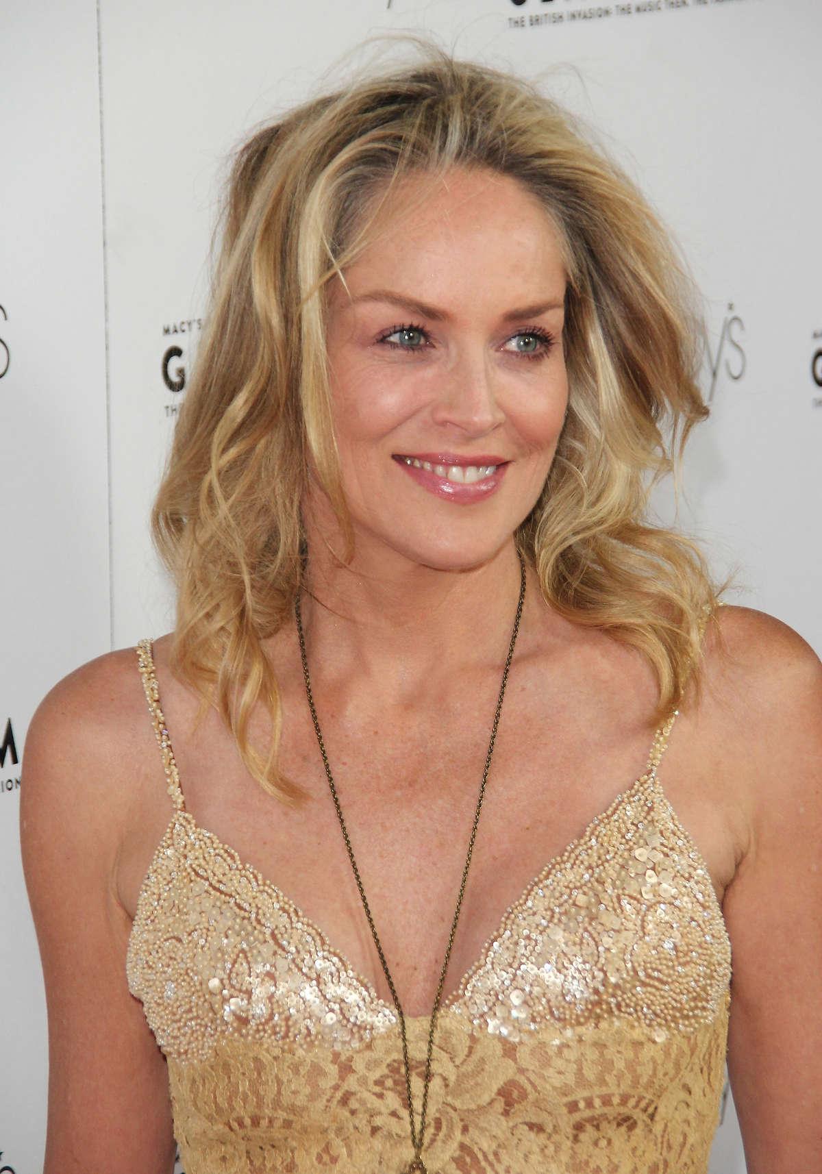 غریزه Sharon Stone at Glamorama - Full Size Pictures : GotCeleb