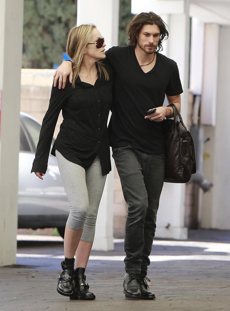 Sharon Stone And Martin Mica 09 Gotceleb